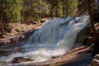 Mumlavský vodopád z levého břehu