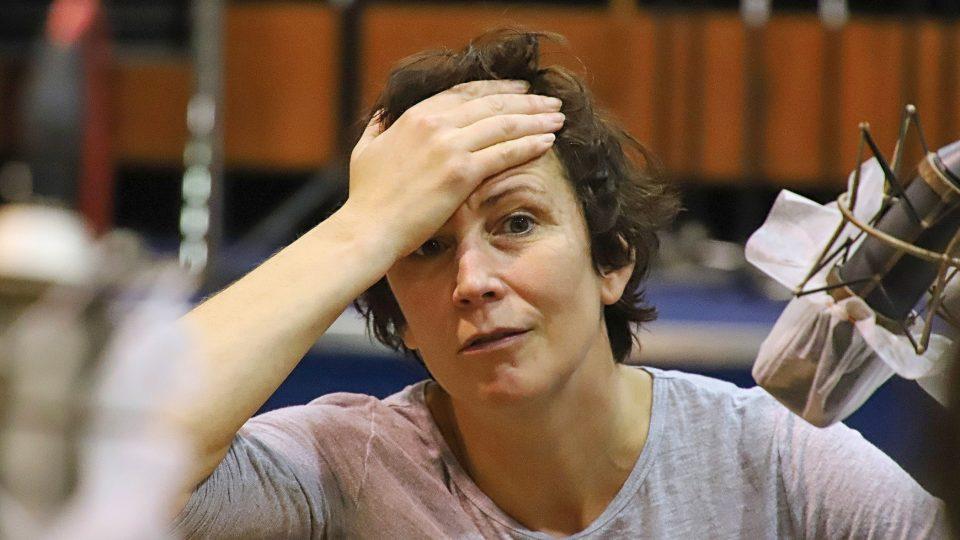 Kristýna Frejová se přiznala, že je mistr na znečištění seriálového kostýmu