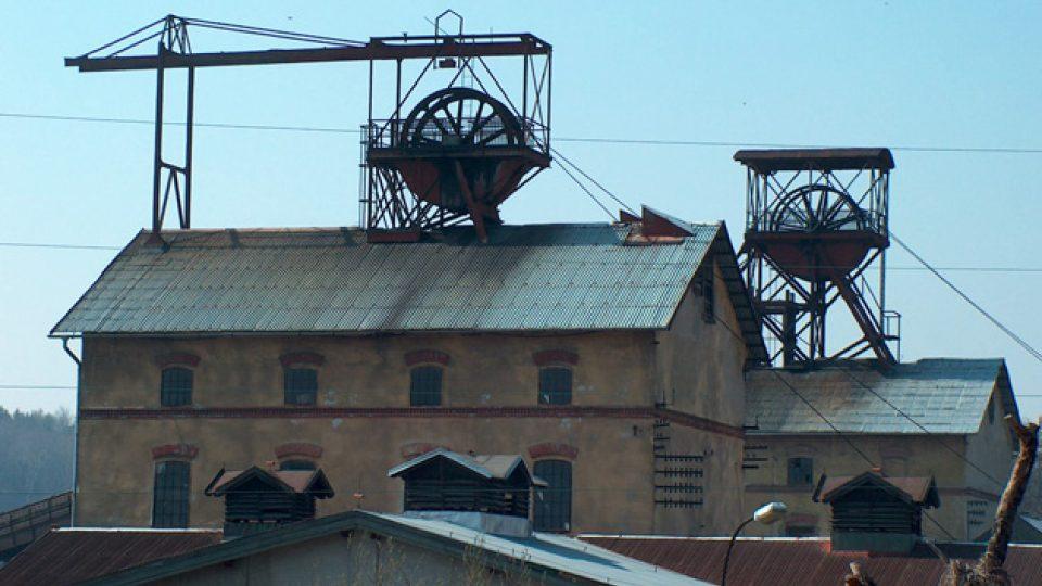 Těžní věže Robert a Mayrau