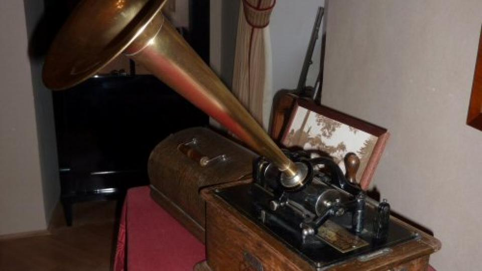 Fonograf na zámku Mníšek pod Brdy