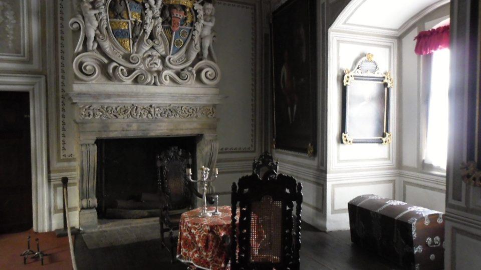 Interiéry zámku ve Frýdlantu