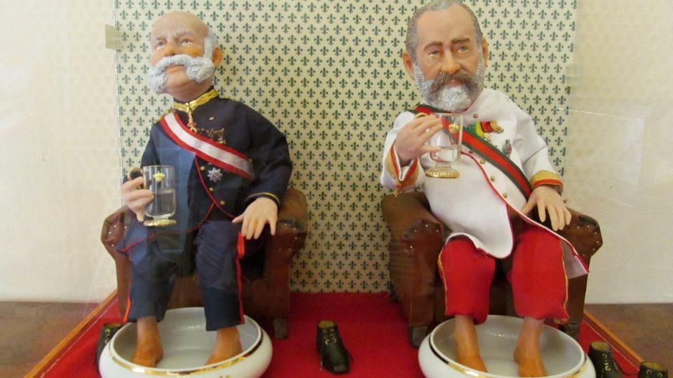 Mariánské Lázně - muzeum vzpomínka na setkání monarchů