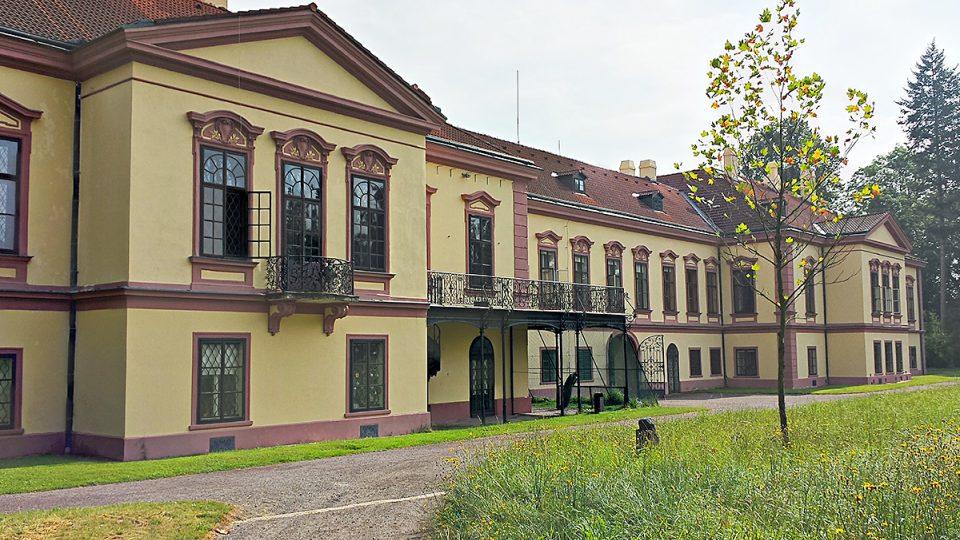 Tudy vstupoval i Jan Masaryk do zámeckého parku v Heřmanově Městci