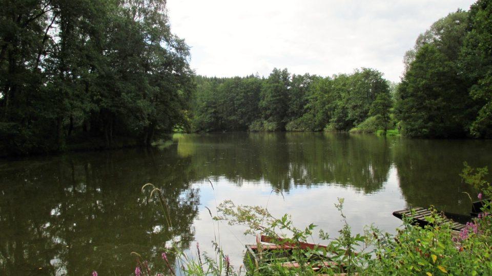 Odlezelské jezero v plné kráse
