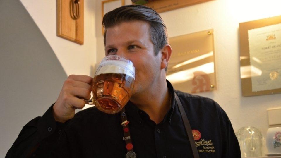Mistr výčepní musí vědět, jak chutná pivo, které čepují