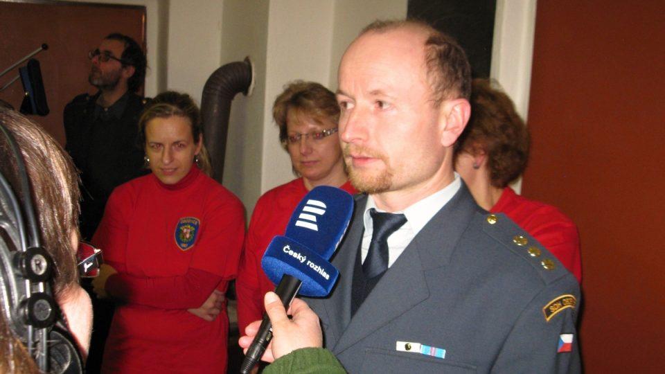 Petr Čihák, velitel