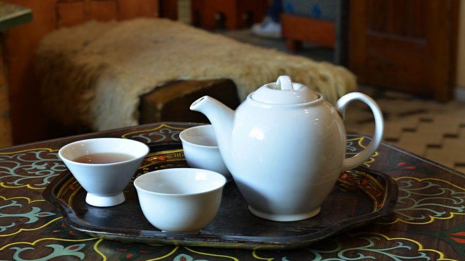 Běžná čajová souprava