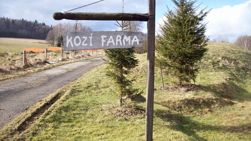 Cesta k farmě