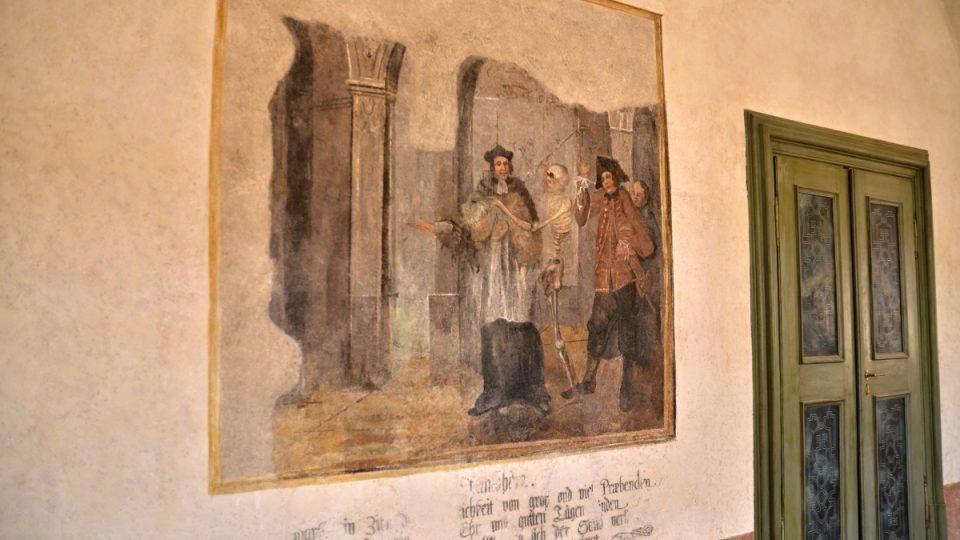 Fresky na Kuksu