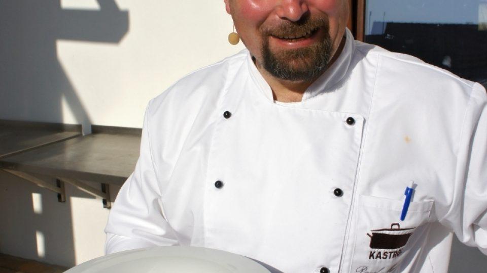 Pavel Mencl a jeho dílo - fazolový krém se slaninou