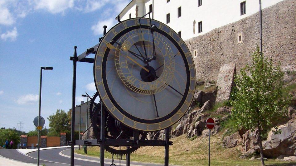 Orloj - zepředu