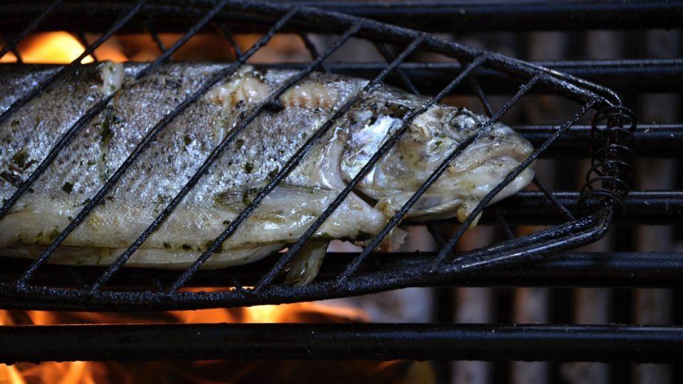 Grilování ryby