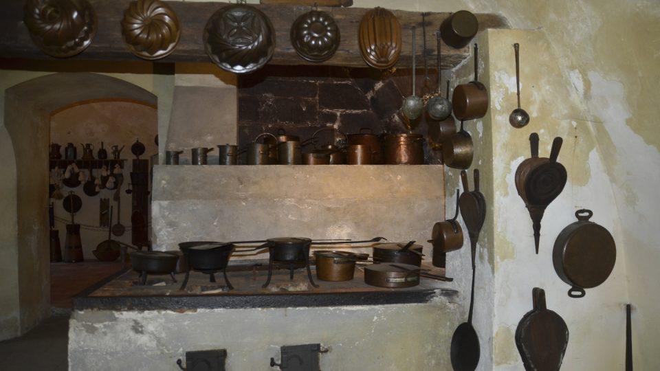 Jak se vařilo na hradě Kost