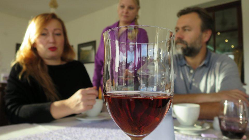 Levandulové víno můžete ochutnat pouze v Mikulově
