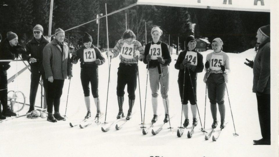 První lyžařské vleky se v Krkonoších začaly objevovat koncem 50. let