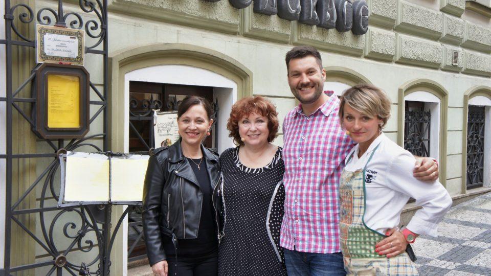 Alena Mihulová, Naďa Konvalinková, Patrik Rozehnal, Víťa Bajčanová
