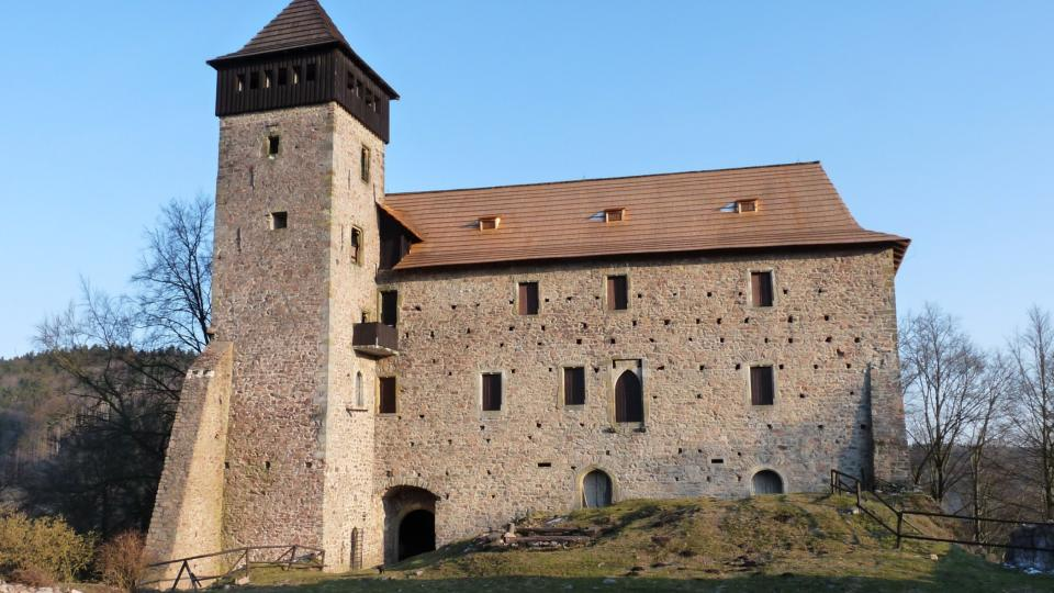 Tady bydlel Jiří z Poděbrad při svých návštěvách