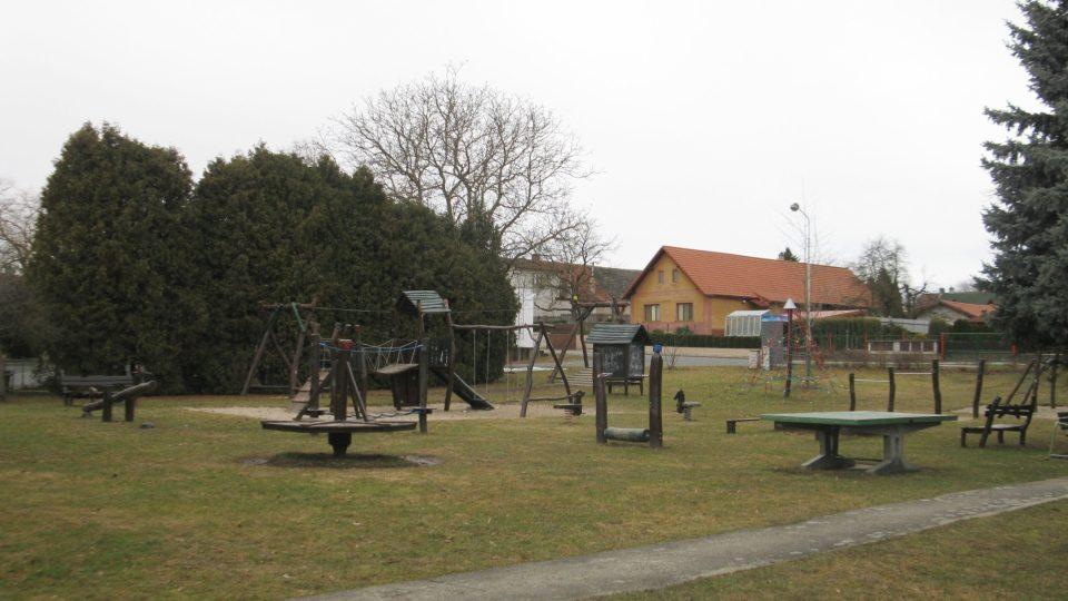 Dětské hřiště v Hulicích