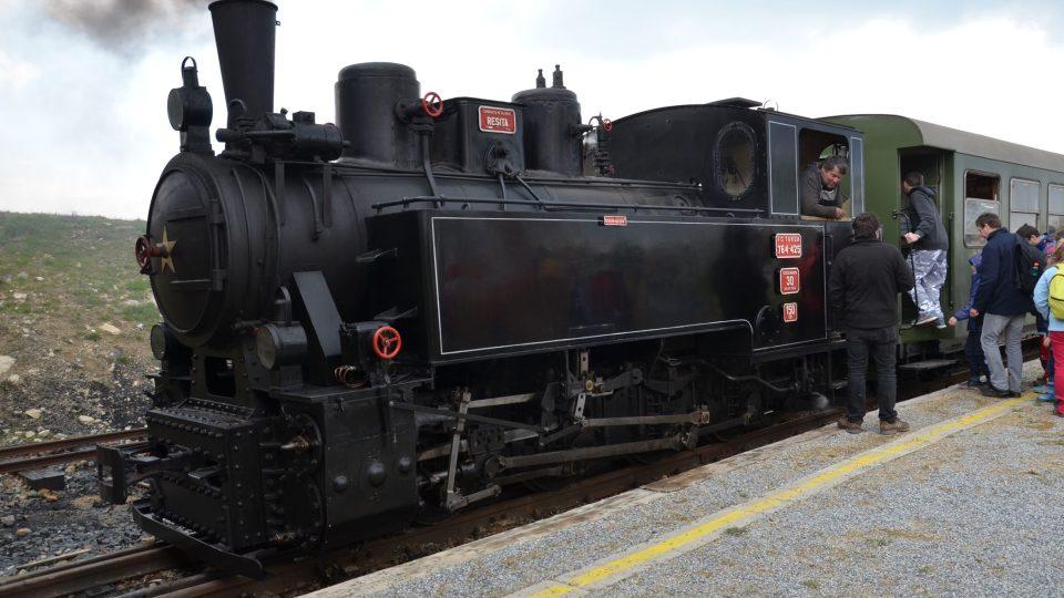 Lokomotivu vyrobila Vídeňská továrna na lokomotivy