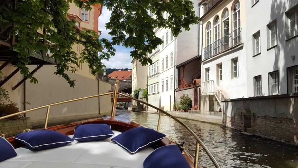 Italské Benátky připomíná svou malebností pražská Čertovka