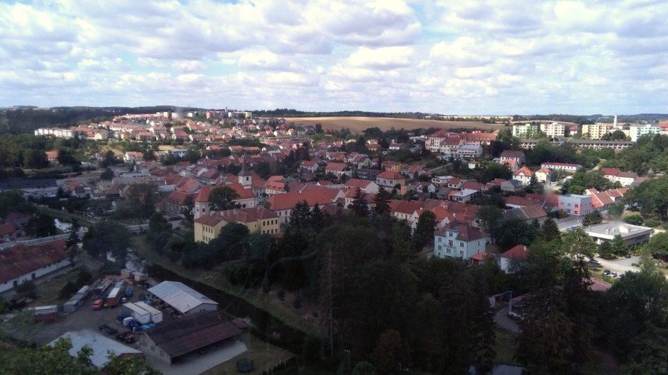 Výhled ze zámku