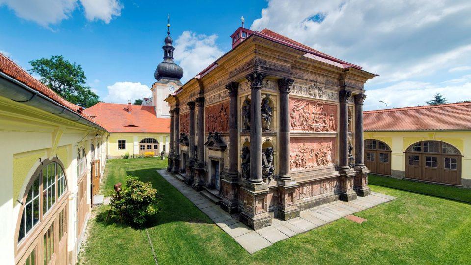 Loretánská kaple s ambitem