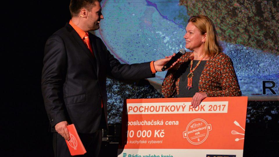 Vylosovaná hlasující Soňa Benešová
