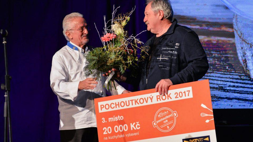 Josef Kopecký vyhrál třetí cenu za krkonošské kyselo