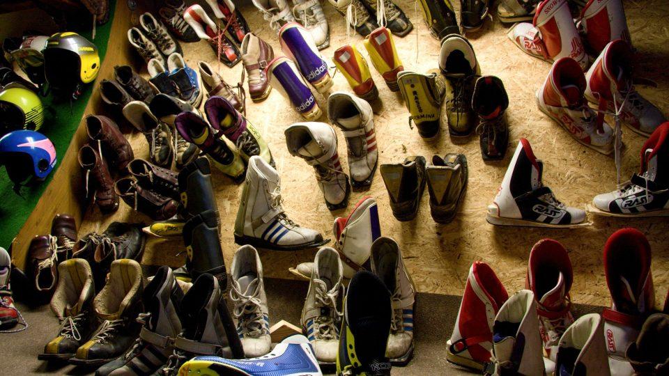 Boty na skoky na lyžích