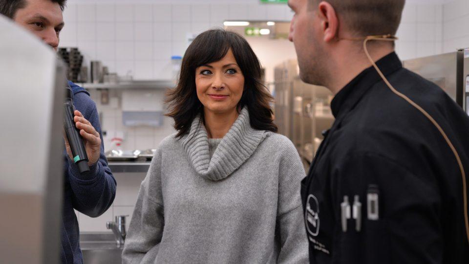 Daniela Šinkorová nakoukla také do kuchyně