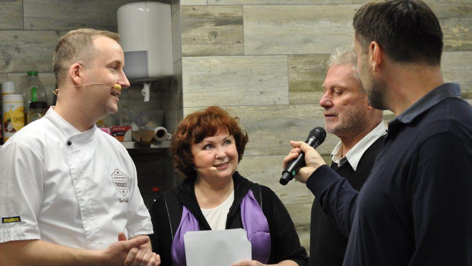 Zdeněk Merta nakouknul i do kuchyně