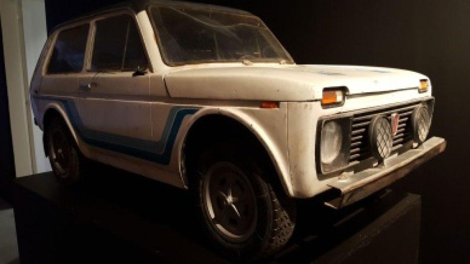 Návštěvníci, 1983, model vozu Lada Niva