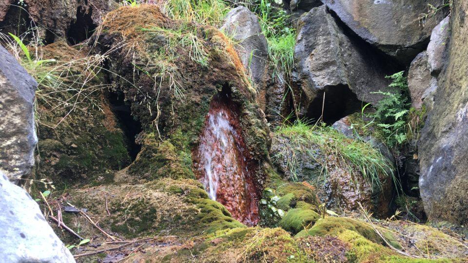 Část Mattoniho vodopádu