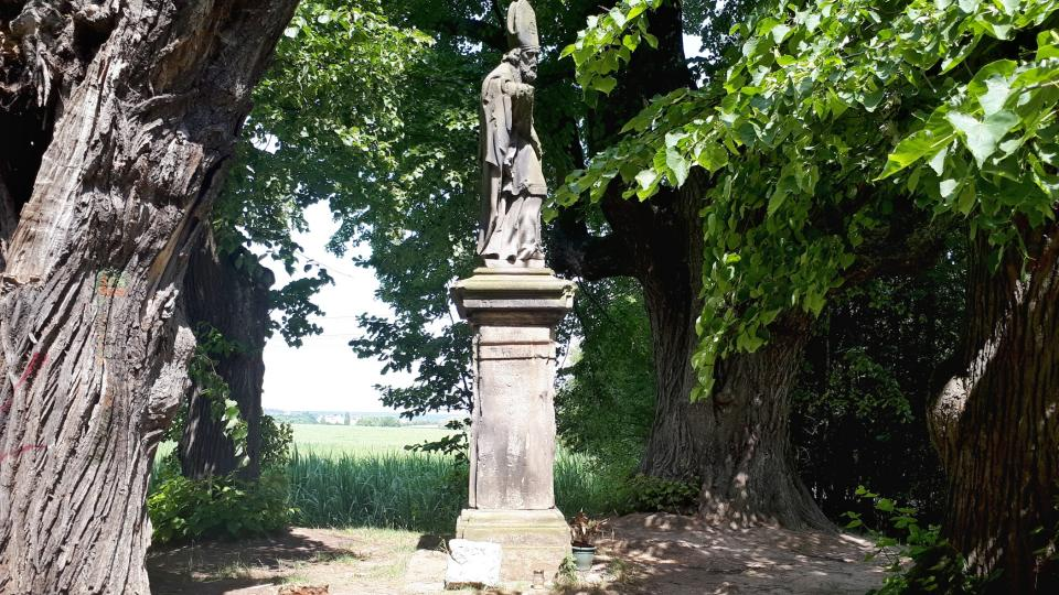 Socha sv. Donáta u Škvorce