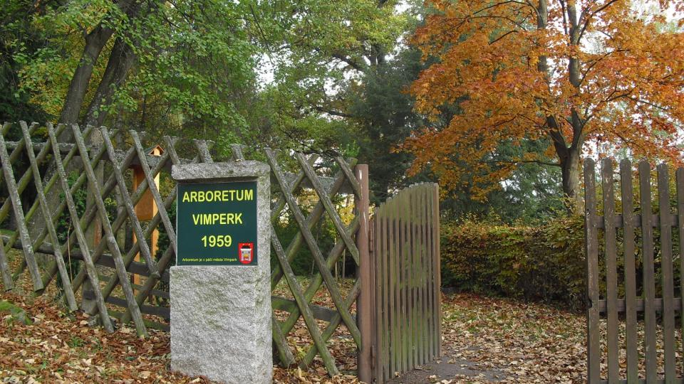 Arboretum bylo založeno v roce 1959
