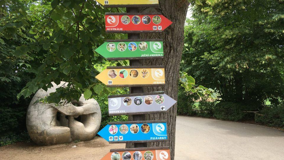 Návštěva plzeňské zoo je na celý den