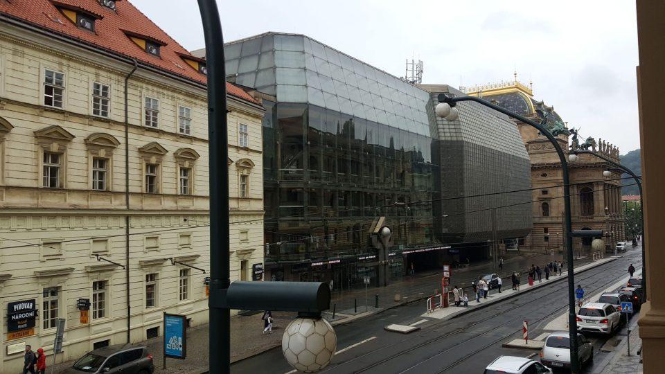 Výhled z oken Topičova klubu