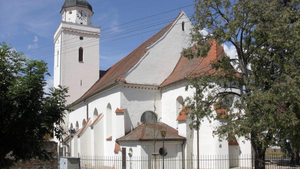 Kostel sv.Jakuba Staršího Pohořelice