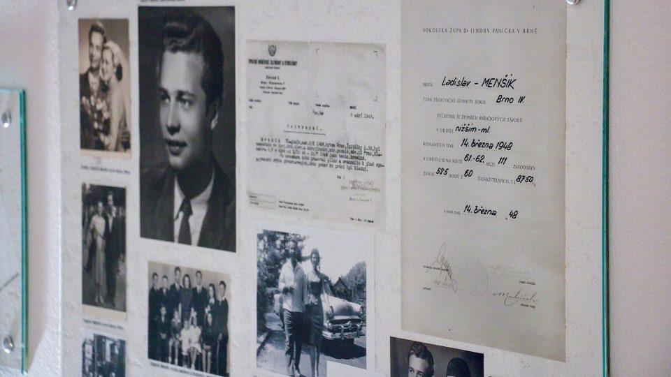 Osobní dokumenty Vladimíra Menšíka