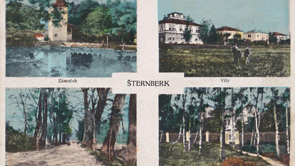 Zaniklé Lázně Šternberk