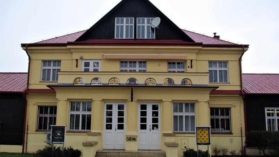 Budova Divadla Drak v Hradci Králové