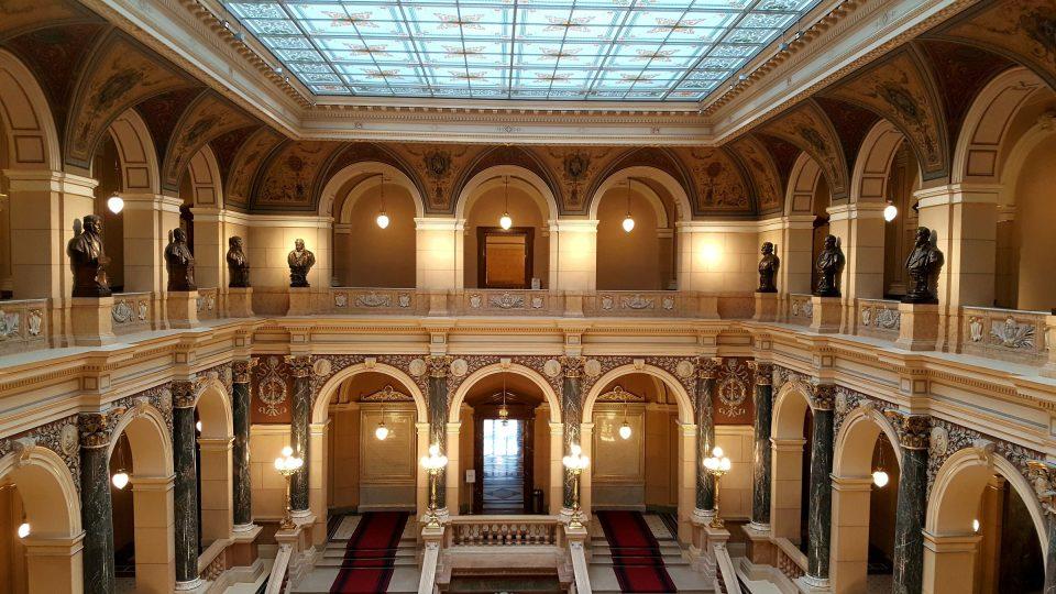 Interiér Historické budovy Národního muzea