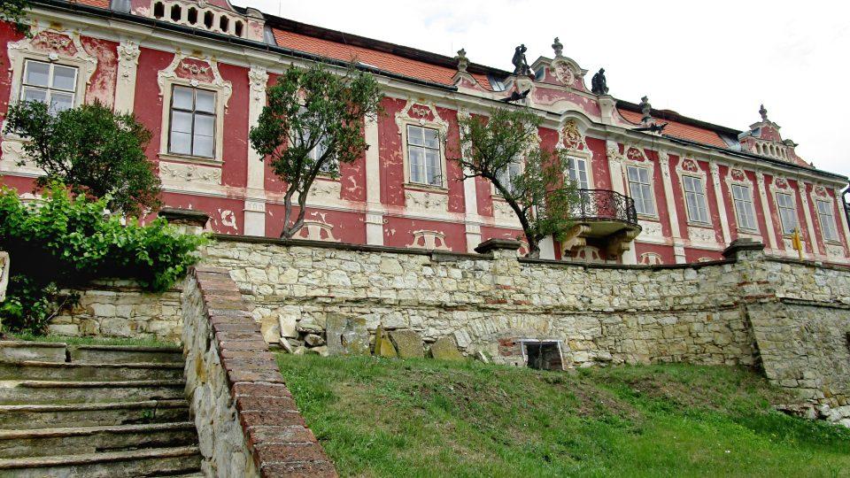 Italská zahrada na zámku Stekník