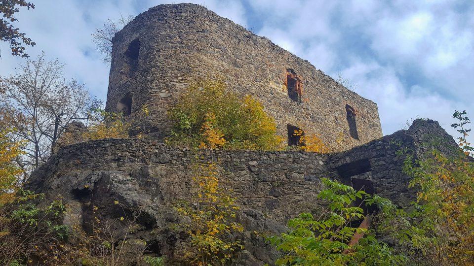 Zřícenina hradu Vlčtejna