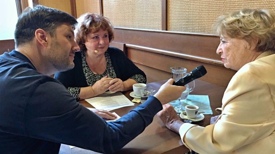 Patrik Rozehnal, Naďa Konvalinková a Libuše Švormová