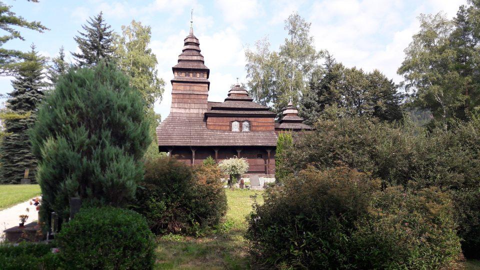 Kostelík z Podkarpatské Rusi v Kunčicích