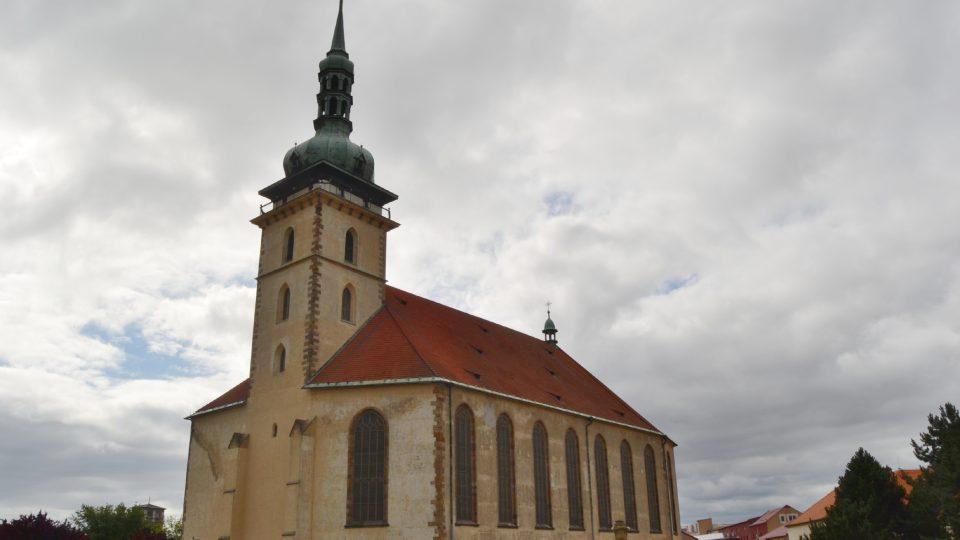 Kostel Nanebevzetí Panny Marie v severočeském Mostě