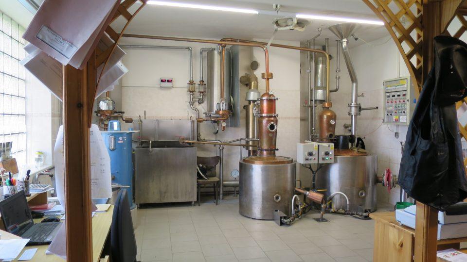 Palírna a pivovar Žlebské Chvalovice