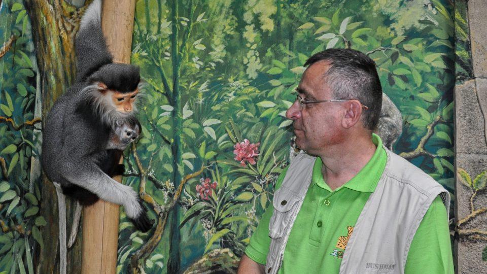 Ředitel Zoo Chleby René Franěk