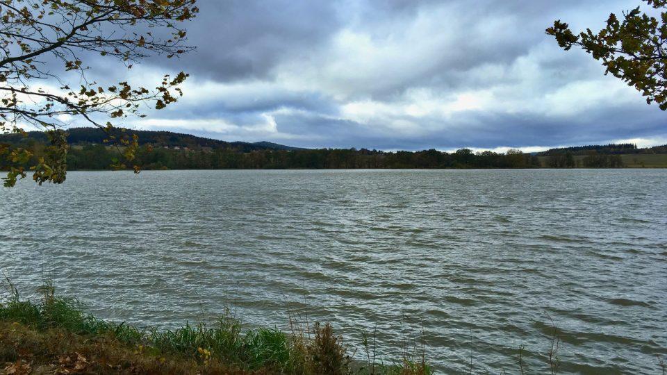 Z hráze Cekovského rybníku